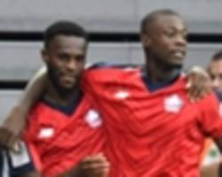 pepe, bamba outshine alioui as lille edge nimes in five-goal thriller