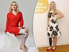 alton towers smiler crash survivor says new pink prosthetic leg will allow her to wear heels again
