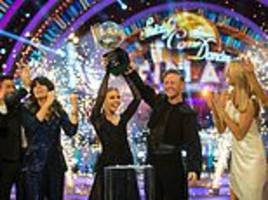 stacey pulls off strictly win (i don't mean her wardrobe mishap!) writes liz jones