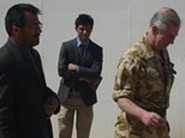 Afghan translator who risked his life to work with Prince Charles could be kicked out of the UK