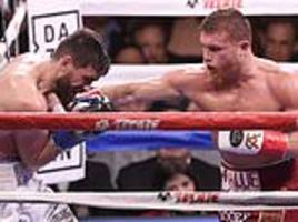 canelo alvarez cruises to victory over rocky fielding