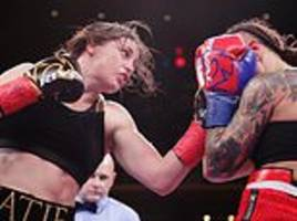 katie taylor defends ibf and wba lightweight titles with easy win over eva wahlstrom in new york