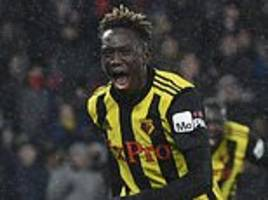 spanish giants can only look on as quina shines for watford