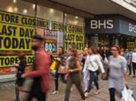 britain's high street crisis claims 93,000 jobs in a year, with chains going bust and store closures