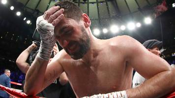 'i lived a dream - but i will come again' - fielding beaten by alvarez