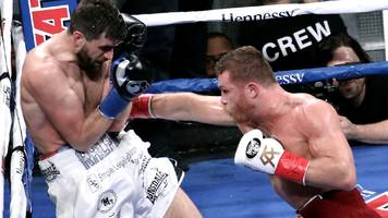 'canelo' alvarez v rocky fielding: mexican eases to win at madison square garden