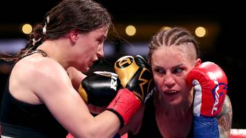 katie taylor beats eva wahlstrom to defend world titles in new york
