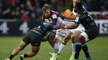 European Rugby Champions Cup: Newcastle Falcons 8-21 Edinburgh