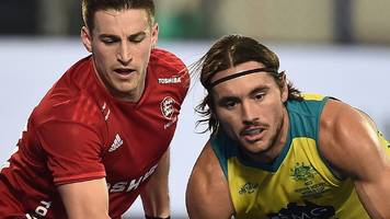 hockey men's world cup 2018: england lose 8-1 to australia in play-off
