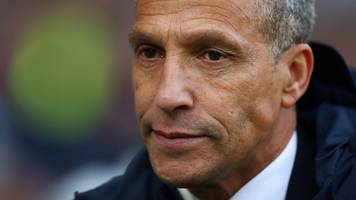 Brighton 1-2 Chelsea: Chris Hughton praises players' efforts
