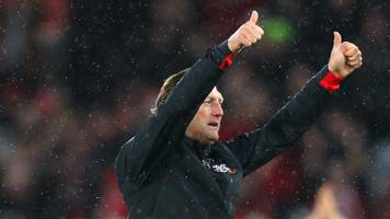 Southampton 3-2 Arsenal: Ralph Hasenhuttl pleased with 'special' Southampton win
