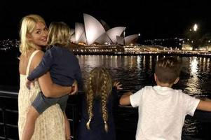 Holly Willoughby sparks parenting controversy with Instagram picture of her children in Australia
