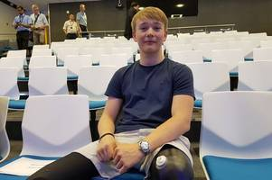 Billy Monger dedicates Sports Personality of the Year award to staff at QMC who saved his life