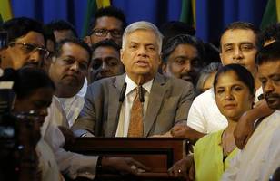 victory for democracy, says reinstated sri lankan pm wikremesinghe