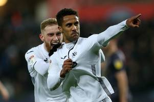 swansea city's forgotten man continues renaissance, where does defender stand and what made sheffield wednesday boss walk out of interview