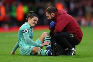Unai Emery makes Arsenal transfer statement after Hector Bellerin injury