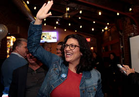 tlaib to wear palestinian gown to swearing-in ceremony at congress