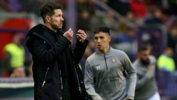 atletico madrid boss diego simeone praises match winner antoine griezmann after real valladolid win