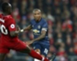 man utd disappointed and deflated after liverpool loss - young