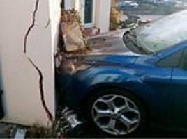 albanian illegal immigrant, 25, led police on 100mph chase then crashed into family home