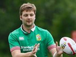 ireland lock iain henderson facing race to be fit for six nations after tearing ligament in thumb