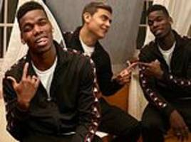 man united's paul pogba hangs out with juventus 'brother' paulo dybala
