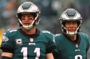 marcellus wiley insists that nick foles defeating the rams is 'not a good look for carson wentz'