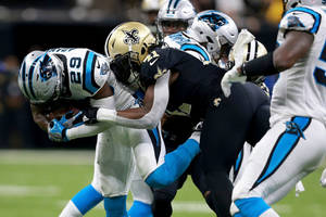 how to watch the saints-panthers game on 'monday night football' for free