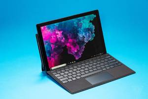 this black microsoft surface pro 6 deal includes a type cover for $999