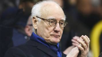 chelsea chairman bruce buck greets fans after allegations of racist chanting