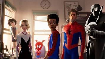 spider-man: into the spider-verse takes over the holiday box office