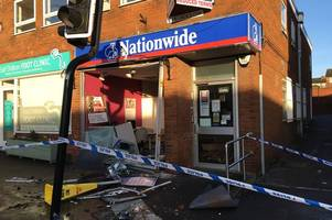 Full police statement released over theft of ATM from building society in Earl Shilton