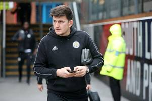 harry maguire gives honest assessment of leicester city's defeat to crystal palace
