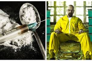 police hunting breaking bad-style gang making monkey dust in stoke-on-trent lab