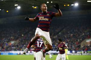 rafa benitez's four word response to whether salomon rondon might stay at newcastle