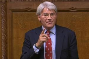 conservative mp andrew mitchell urges theresa may to delay brexit