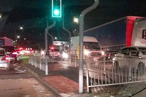 Lakeside traffic 'is like New York City' as roads remain gridlocked