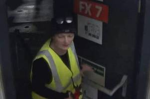 do you recognise this woman? cctv appeal after £13k of goods stolen from stoke-on-trent's amazon depot