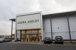 laura ashley to shut forty stores... but what does that mean for its branches in newcastle, congleton, crewe and nantwich?