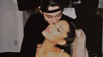 pete davidson 'turned ariana grande away' as she rushed to his side amid concerns forwell-being