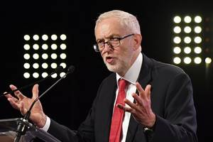 Set date for Brexit vote or face confidence motion, Corbyn to tell PM