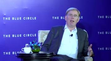 symbian co-founder and futurist, david wood, on 'predicting 2025' at the blue circle