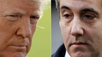 how the jailing of cohen affects trump