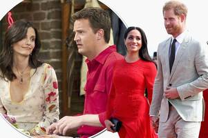 Meghan Markle and Prince Harry nicknamed 'Monica and Chandler' by palace insiders