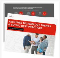 2018 facilities survey reveals technology trends, acquisition best practices and unexpected insights