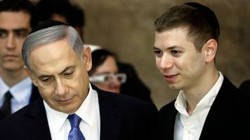 facebook temporarily bans israeli pm's son over posts