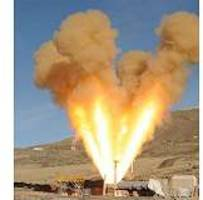 Static test qualifies crew safety launch abort motor for flight in cold conditions