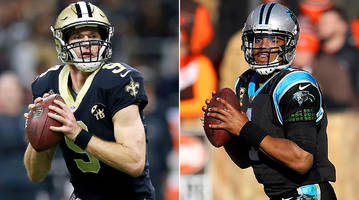 saints-panthers pick: drew brees, cam newton primed for a monday night nfc south showdown