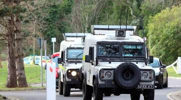 Terror arrest over Larne arms dump believed to be linked to Royal Marine dissident