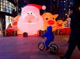 christmas is cancelled in a chinese city as local government bans festive decoration